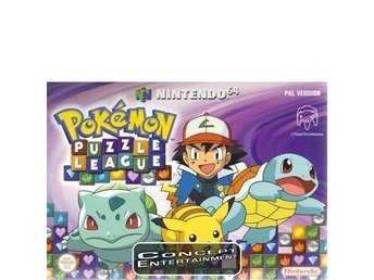 POKEMON PUZZLE LEAGUE till Nintendo 64, N64