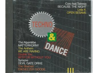 TECHNO & DANCE  III -1993