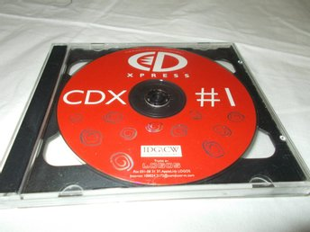 IDG CD XPRESS CDX 1  Mac & PC CD ROM skiva