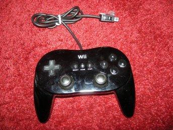Nintendo Wii Classic Pro Controller (Nintendo Orginal) - Malmö - Nintendo Wii Classic Pro Controller (Nintendo Orginal) - Malmö