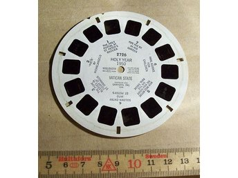 VIEW-MASTER SKIVA. HOLY YEAR 1950 VATICAN STATE