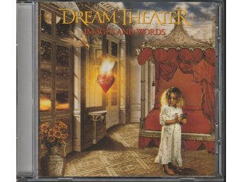 DREAM THEATER - IMAGES AND WORDS CD NYSKICK!