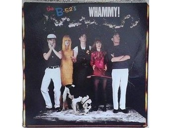 The B-52's title* Whammy!* UK LP
