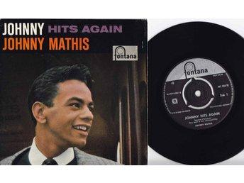JOHNNY MATHIS - JOHNNY HITS AGAIN - EP 1959 - Sölvesborg - JOHNNY MATHIS - JOHNNY HITS AGAIN - EP 1959 - Sölvesborg