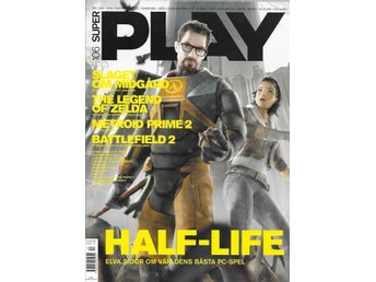 SUPER PLAY NR 105  2004 -HALF-LIFE , BATTLEFIELD 2 ..