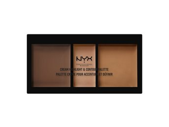 NYX PROF. MAKEUP Cream Highlight & Contour Palette Deep