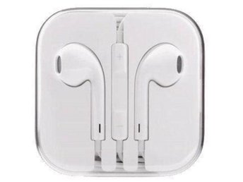 NYA , OANVÄNDA- Hög kvalitet Apple iPhone EarPods