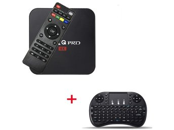 TV Box MXQPRO 1+8GB Mini Quad Core Amlogic S905X Android 6.0