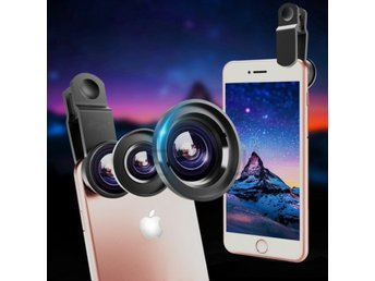 3 in 1 Wide Angle Fisheye Lens Smartp...