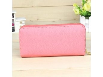 Womens Ladys Card Coin Key Holder Zip PU Leather Wallet Pouch Bag Purse Make