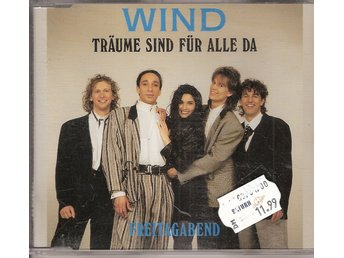 Eurovision 1992 Germany: Wind – Traume sind fur Alle Da – CD-Single