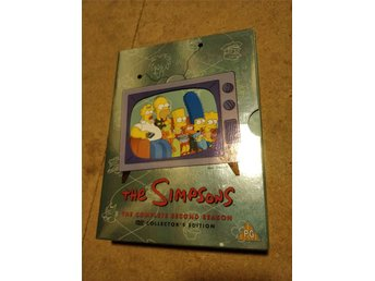 Simpsons Säsong 2 DVD Box