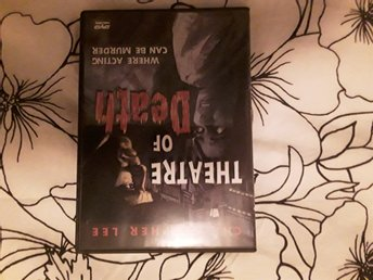 Theatre of death DVD Region 1 Otextad,Christopher Lee