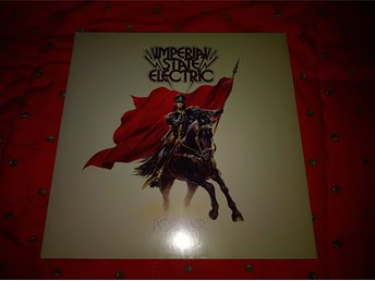 Imperial State Electric - Pop War röd Lp Inplastad (Hellacopters ISE