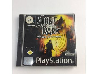 Sony, PlayStation-spel, Alone in the dark, 2 st