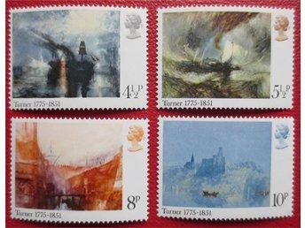England - Birth Bicentenary of J M W Turner 1975 - Degerhamn - England - Birth Bicentenary of J M W Turner 1975 - Degerhamn
