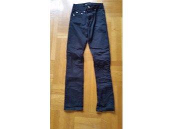 Tunna svarta jeans från Gina tricot - Lindesberg - Tunna svarta jeans från Gina tricot - Lindesberg
