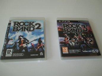 Rock Band 2 och Rock Band 3 till Playstation 3 - Vallentuna - Rock Band 2 och Rock Band 3 till Playstation 3 - Vallentuna