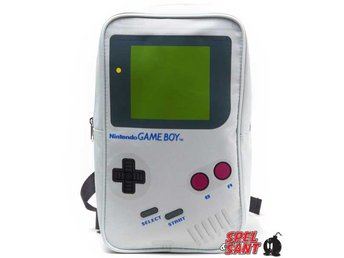 Nintendo Gameboy Mini Backpack Grå