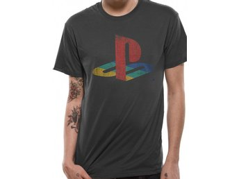 PLAYSTATION - LOGO (UNISEX)  T-Shirt - Extra-Large