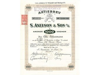Axelsons & Son AB,