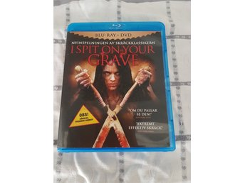 *I Spit On Your Grave (Blu-ray+DVD)*PERFEKT SKICK/UTGÅTT*