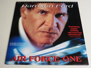 AIR FORCE ONE (Laserdisc) Harrison Ford
