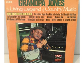 Grandpa Jones vinyl LP Greatest hits