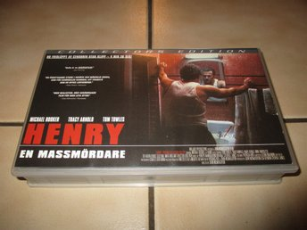 henry en massmördare vhs horror skräck henry portrait of a serial killer uncut