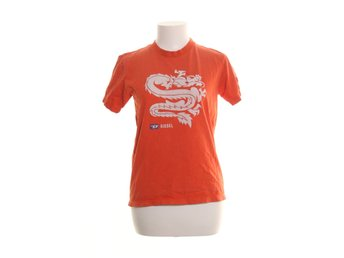 Diesel, T-shirt, Strl: One size, Orange