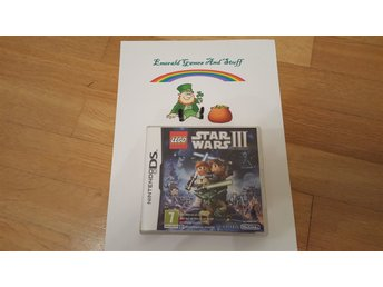 Nintendo DS Spel Lego Star Wars 3