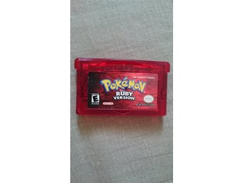 Pokemon Ruby Gameboy Advance spel