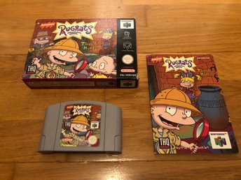 Rugrats Treasure Hunt CIB - N64