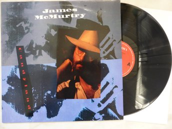 LP- JAMES McMURTRY - Style :Roots Rock / Folk Rock / Americana.    Eur. 1982