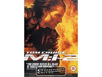 Mission Impossible 2, Tom Cruise (Nytt) DVD