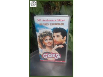 VHS Grease  20 the Anniversary Edition 1 tim 46 minuter