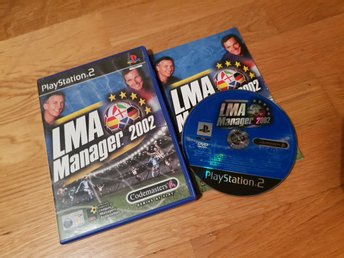 LMA MANAGER 2002 PS2 BEG