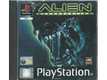 ALIEN RESURRECTION - KOMPLETT ( PS ONE )