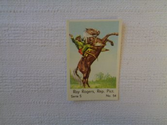 Nr 54 Roy Rogers- Serie S 1957- Stor  text