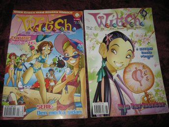 2 ST WITCH SERIE TIDNINGAR NR 9-2007 + 6-2005