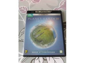 Planet Earth 2 (4K ULTRA-HD 2-Disc!) David Attenborough (NYSKICK)