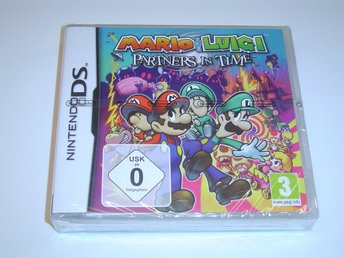 Mario & Luigi Partners in Time Nintendo DS NDS *NYTT*