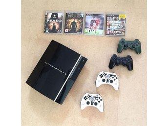 PS3 Playstation 3 60g fyra spel fyra kontroller fint skick! Felfri TVspel - Gustavsberg - PS3 Playstation 3 60g fyra spel fyra kontroller fint skick! Felfri TVspel - Gustavsberg