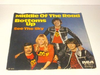Middle Of The Road - Bottoms Up / See The Sky, vinyl EP