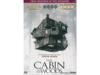 The Cabin in the woods ny och inplastad Chris Hemsworth