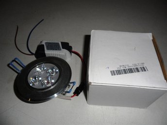 "1 st 12W Dimbar ""Downlight"" Varmvit"