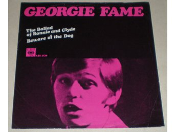 Georgie Fame SINGELOMSLAG The ballad of Bonnie and Clyde 1968