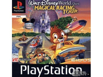 Walt Disney World Quest Magical Racing Tour (Manual Saknas)