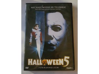 Halloween 5 - Förbannelsen Donald pleacense - Luleå - Halloween 5 - Förbannelsen Donald pleacense - Luleå