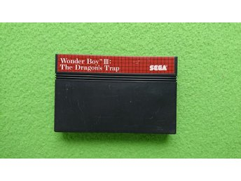 Wonder Boy 3 The Dragons Trap Sega Master System 8-bit